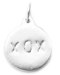 Helen Ficalora - Xox Charm - Silver - Lyst