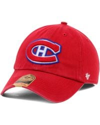 47 Brand Montreal Canadiens Franchise Cap - Lyst