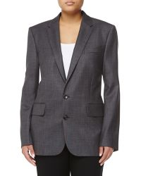 Stella McCartney Wool Two-Button Jacket - Lyst