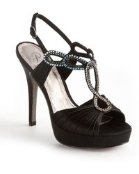 Adrianna Papell Madalen Embellished Strappy Sandals - Black