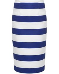 Camilla & Marc Moderator Striped Pencil Skirt - Lyst