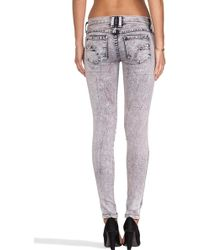 Frankie B. Jeans - My Bff Jegging in Marble - Lyst