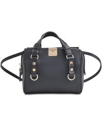DSquared2 Quebec Grained Leather Mini Bag - Lyst