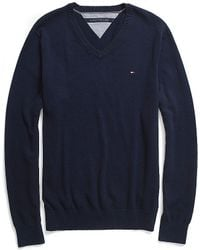 Tommy Hilfiger Classic V Neck Sweater - Lyst