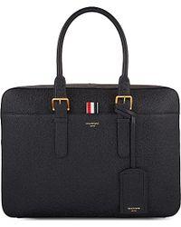 Thom Browne Zipped Business Bag - Black