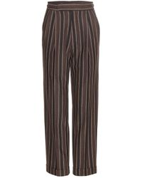 Etro | Striped Trousers | Lyst