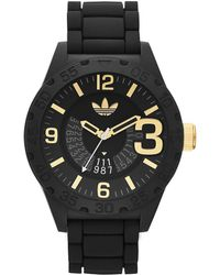 adidas - Newburgh Line Extension Nylon And Silicone Watch - Lyst