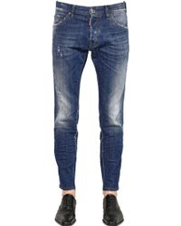 DSquared² 16.5Cm Stretch Cool Guy Jeans - Lyst