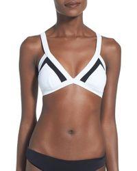 Rip Curl - 'mirage' Triangle Bikini Top - Lyst