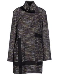 Versace Jeans Couture Coat - Lyst