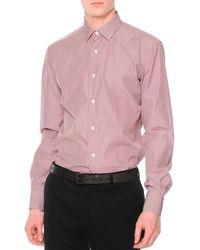 Lanvin Striped Dress Shirt - Lyst