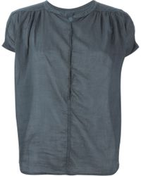 Humanoid 'Brombeer' Blouse - Blue