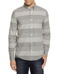 Jack Spade - Blanford Windowpane Regular Fit Button Down Shirt - Lyst