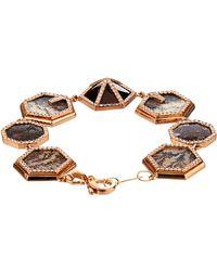 Monique Péan | Diamond, Opal, Agate & Rose-Gold Bracelet | Lyst