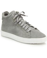 Rag & Bone Kent Suede High-Top Sneakers - Lyst