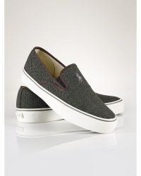 Polo Ralph Lauren Burlap Mytton Sneaker - Lyst