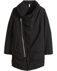 H&M Black Padded Jacket - Lyst