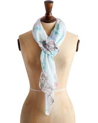 Joules - Wensley French Market Scarf - Lyst