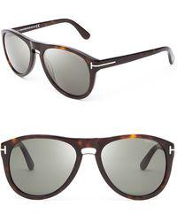 Tom Ford Kurt Sunglasses - Lyst
