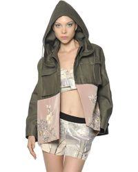 Antonio Marras Limited Edition Cotton Military Jacket - Lyst