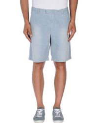 Fred Perry Bermuda Shorts - Blue