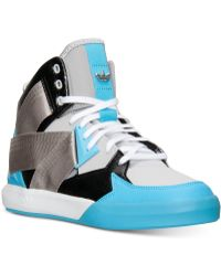 Adidas Mens Originals Court Ten Mid Casual Sneakers From Finish Line - Lyst