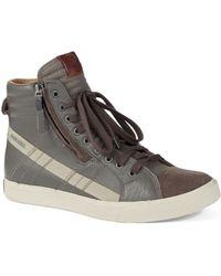 Diesel D-vellows D-string Sneakers - Lyst