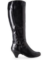 Aerosoles Black Infamous Boots - Lyst