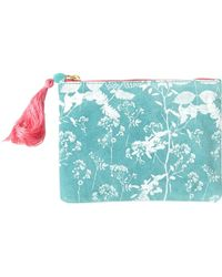 White Stuff - Printed Foliage Pouch - Lyst