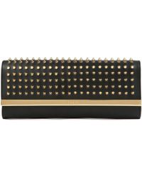 Ted Baker Studded Metal Bar Clutch - Lyst
