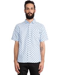 Undefeated Bs Button Up - Lyst
