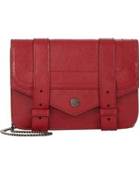 Proenza Schouler Ps1 Large Chain Wallet - Lyst