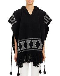 Ulla Johnson Blanket Weave Poncho - Lyst