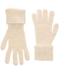 Stefanel Gloves - White