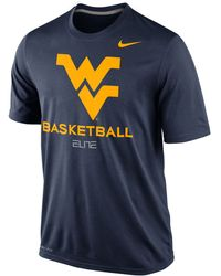Nike  West Virginia Mountaineers Basketball Practice T-shirt - Lyst
