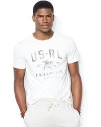Polo Ralph Lauren Custom Fit Airfield T Shirt - Lyst