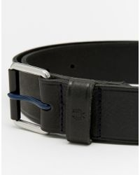Fred Perry - Leather Belt With Contrast Prong - Lyst