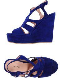 FRAME Sandals - Blue