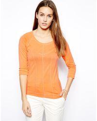 Twenty 8 Twelve Devon Cotton Lyocell Tshirt - Lyst