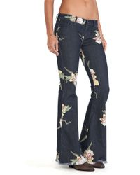 Free People Floral Bali Flare - Lyst