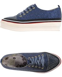 Colors Of California Low-Tops & Trainers blue - Lyst