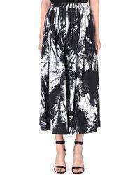 Preen Floral Stretchcrepe Skirt Bw Bird - Lyst