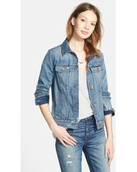 Madewell Denim Jacket - Lyst