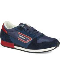 Diesel Blue Owens Sneakers - Lyst