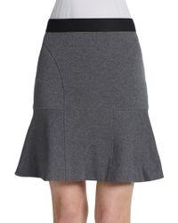 Rebecca Taylor Flutter Skirt - Lyst