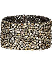 Monique Pean Atelier - Monique Péan Atelier Mixed-Diamond Bracelet-Colorless - Lyst