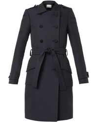 Pallas - Vulcain Doublebreasted Trench Coat - Lyst