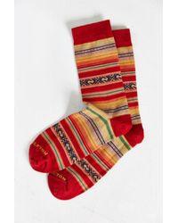 Pendleton - Casa Grande Stripe Crew Sock - Lyst
