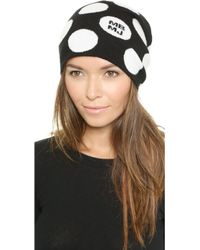 Marc By Marc Jacobs - Charlie Dot Hat - Black Multi - Lyst