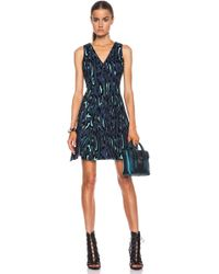 Proenza Schouler Flock Printed Dress - Lyst